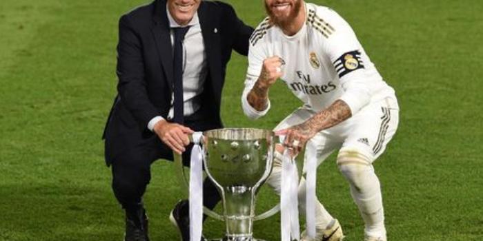 Real Madrid sukses menjadi juara Liga Spanyol